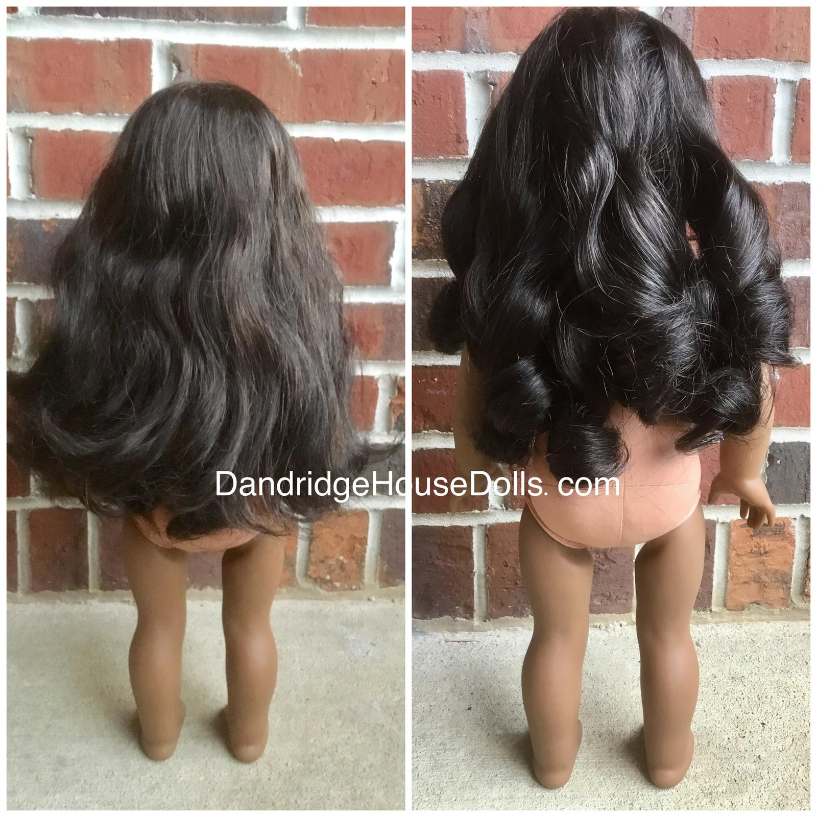 Restoring Doll Hair Tutorial Dandridge House Dolls